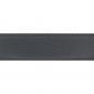 Cuir 30 mm grainé gris foncé