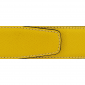 Cuir 40 mm grainé jaune