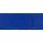 Cuir 40 mm grainé bleu roi