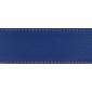 Cuir 40 mm souple cognac bleu roi