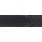 Ceinture cuir souple noir 30 mm - Côme canon fusil