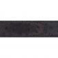 Ceinture cuir façon autruche marron 30 mm - Porto-fino mate