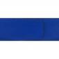 Ceinture cuir grainé bleu roi 40 mm - Milano or