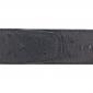 Ceinture cuir façon autruche noir 40 mm - Porto-fino or