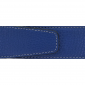 Ceinture cuir souple bleu roi 40 mm - Milano mate