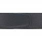 Ceinture cuir grainé noir 40 mm - Milano mate